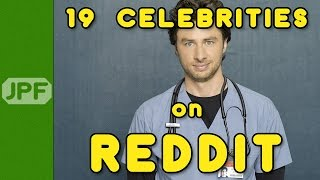 19 Celebrities on Reddit!