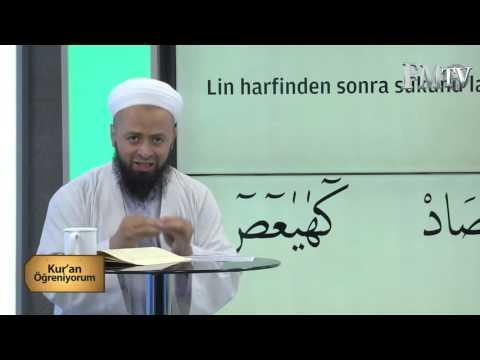 (Medd-i Lin) Mehmet Akdemir Hoca ile Kuran Öğreniyorum 7.  Bölüm FM TV