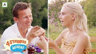 4-stjerners Middag | Frank Løke tror ikke på at Amalie Snøløs har laget maten selv | TVNorge