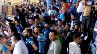 مصر العربية   أحتفالات جماهير الفيصلي عقب الفوز على الأهلي