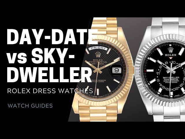 Rolex President Day-Date vs Sky-Dweller | SwissWatchExpo [Watch Comparison]