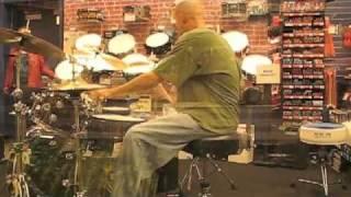 Amazing drum solo- Greg Collister