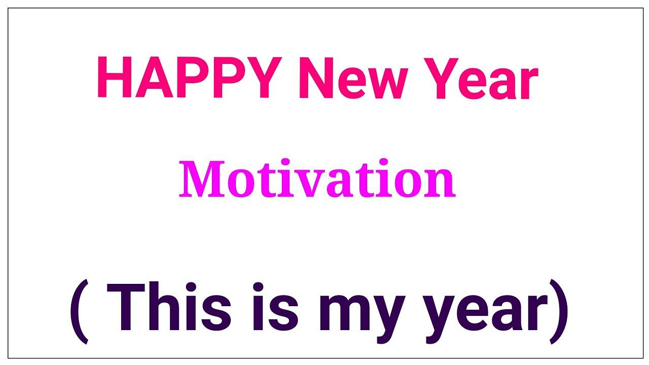 watch before new year/ how to celebrate new year?/ a motivational ...