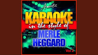 Grandma Harp (In the Style of Merle Heggard) (Karaoke Version)