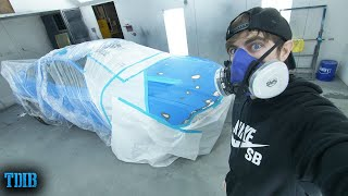 homepage tile video photo for Painting the Smurrf Mustang GT My DREAM COLOR! (Paint ASMR)