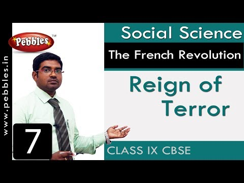 Reign of Terror : The French Revolution | Social | CBSE Syllabus | Class 9
