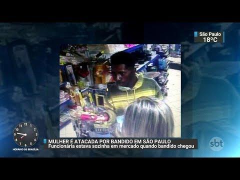 Casos de estupro preocupam moradores da Zona Oeste de SP | SBT Brasil (02/12/17)