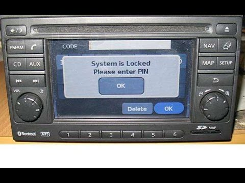 Nissan radio ,decode,unlock code Bosch Lcn pin serial number ! Micra