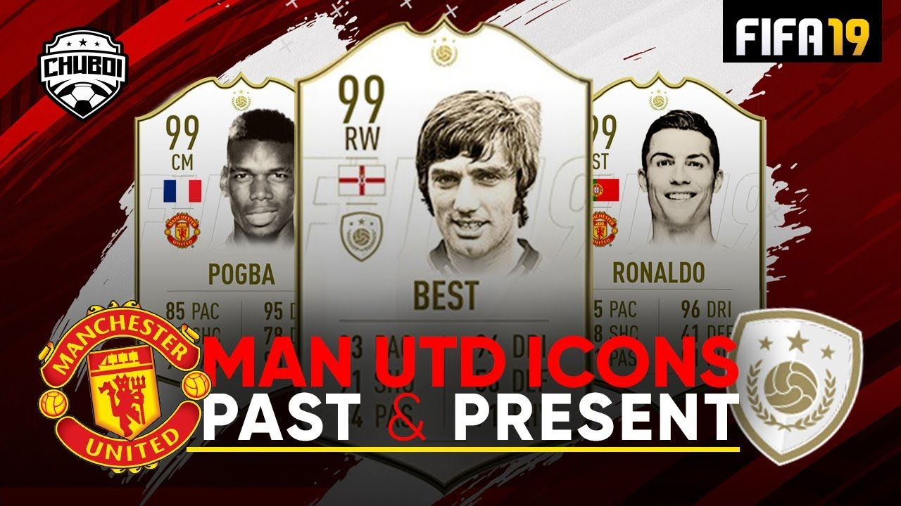 Man United Icons Past Present W Best Van Nistelrooy Ronaldo Fifa 19 Ultimate Team Youtube
