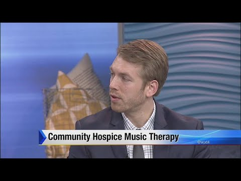 Community hospice music therapy