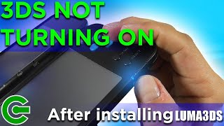 Fixing Nintendo 3DS Not Turning On After Installing CFW