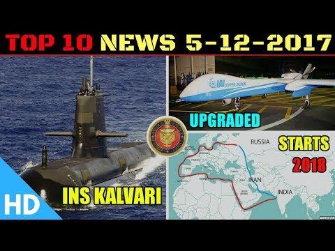 Indian Defence Updates : India Russia Corridor, Special Alloy Brahmos, C-17 Maintainers, INS Kalvari