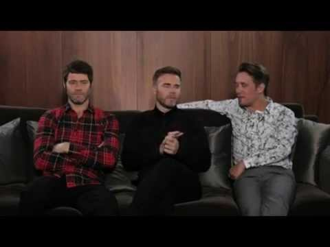 Take That - Universal Interview, Germany 2014