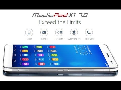 Flash firmware Huawei media pad x1 7.0