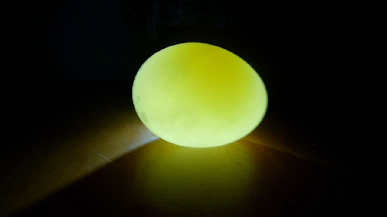 Как сделать светящейся яйцо 95