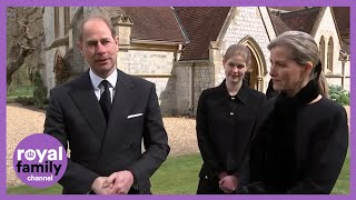 Prince Edward and Prince Andrew Reflect on Loss of Duke of Edinburgh