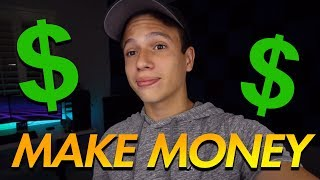 How to Make Money as a Teen! (Honest) // Vonix
