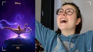 Disney's Aladdin Official Trailer   REACTION