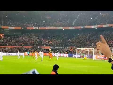 Memphis Depay Panenka Penalty against Lloris - Holland 2 France 0