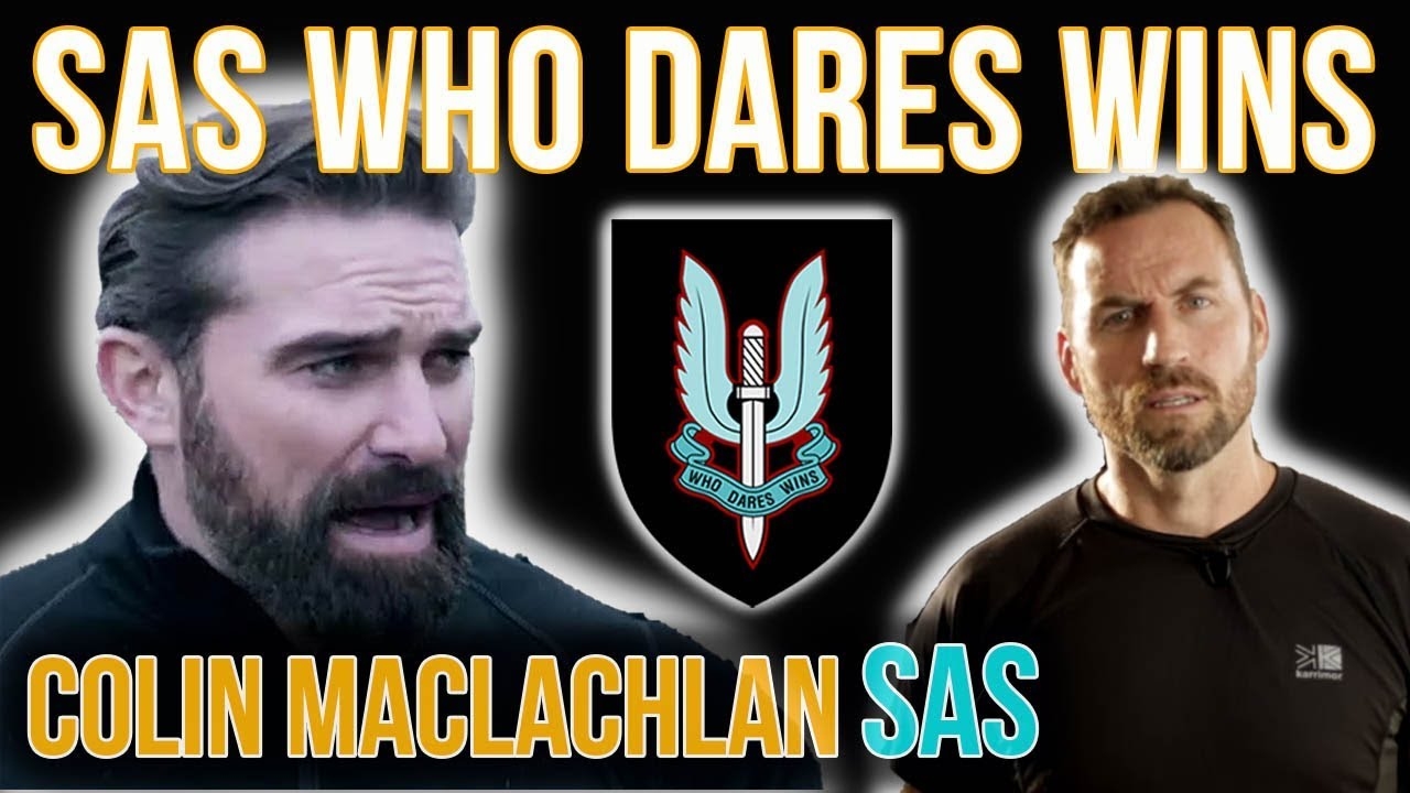 SAS Who Dares Wins Celebrity, Colin Maclachlan, Shares His Thoughts On The Channel 4 TV Show