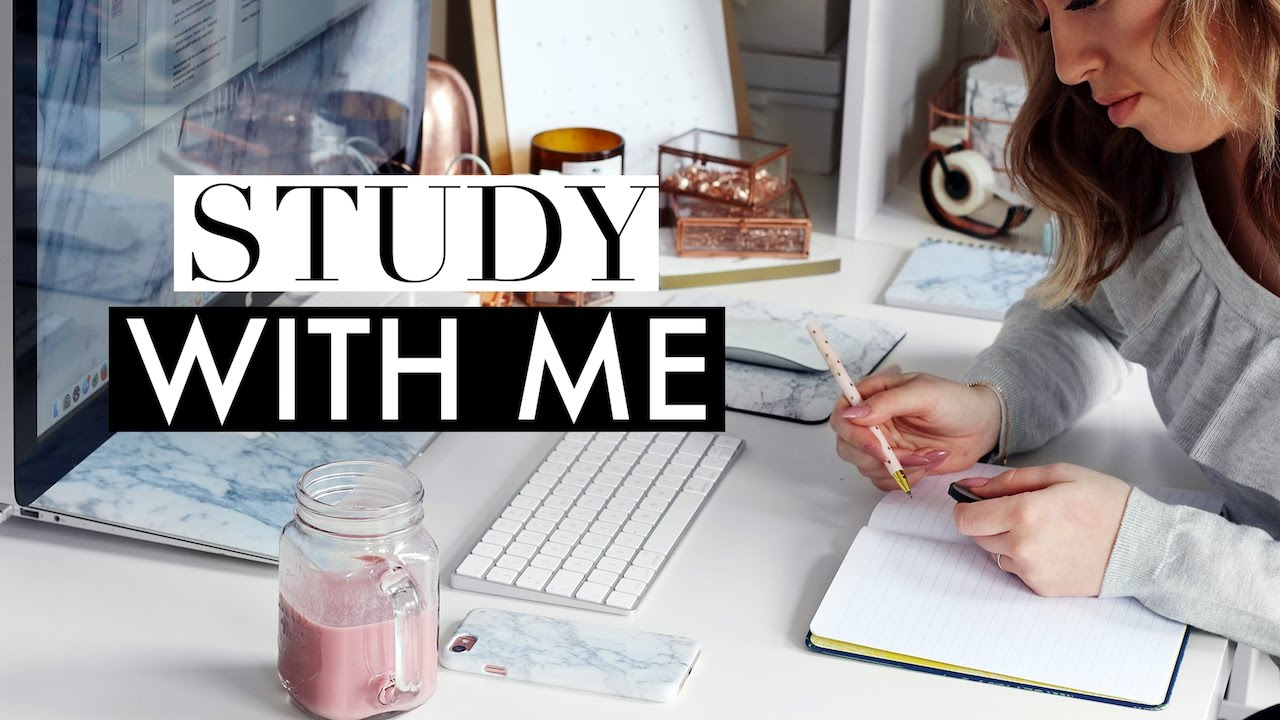 Study With Me #4 ♡ Real Time Studying (30 Minutes Session)  Youtube