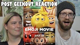 Emoji Movie - Post Geekout Reaction