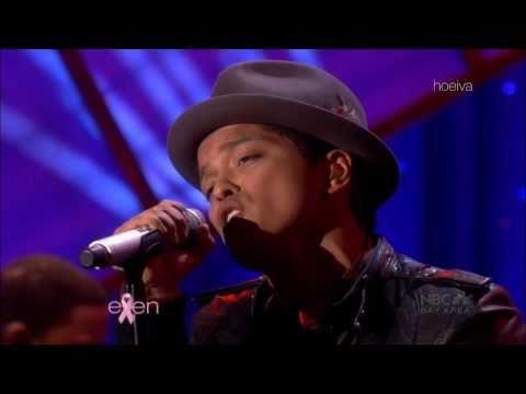 The Ellen DeGeneres Show; Bruno Mars