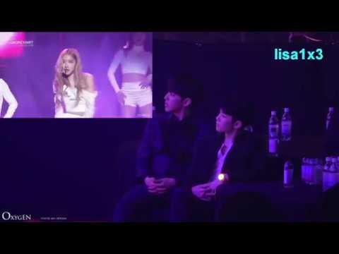 190123 Seventeen reaction to BLACKPINK - DDU DU DDU DU, Forever Young @8th Gaon Chart Awards 2019