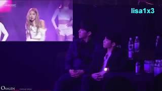 190123 Seventeen reaction to BLACKPINK - DDU DU DDU DU, Forever Young @8th Gaon Chart Awards 2018