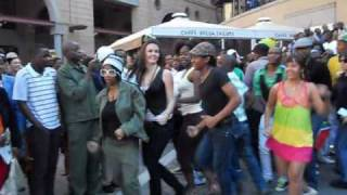 South Africa's largest flash mob - Sandton City (by Vodacom)