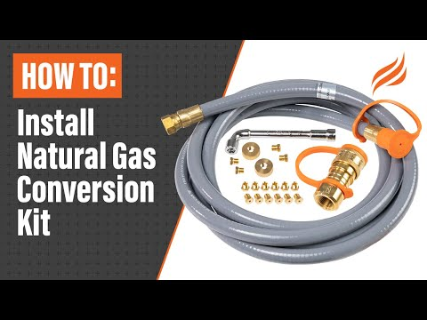 How To Install Natural Gas Conversion Kit Blackstone Griddle Youtube