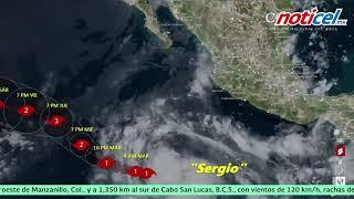 """Llega el huracán """"Sergio"""""""