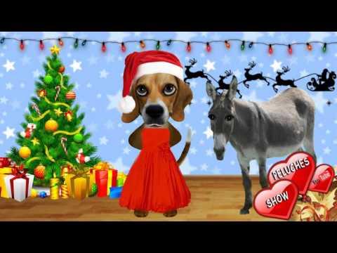 VILLANCICO NAVIDEÑO HACIA BELEN VA UNA BURRA RIN RIN. Canciones de navidad en español para niños