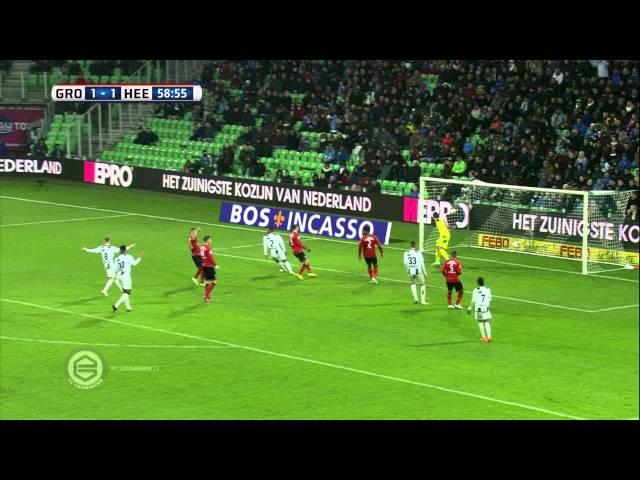 Samenvatting FC Groningen - sc Heerenveen 1-1 (2014-2015)