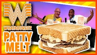 Whataburger® Patty Melt Live Food Review With Daym Drops