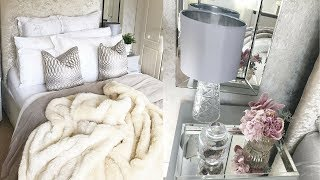 Home Decor - How To Make Your Bed Look Expensive - Ready For Valentine's Day