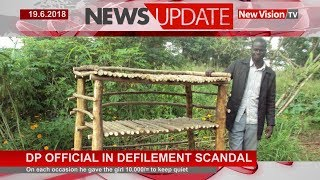Democratic Party official in defilement scandal