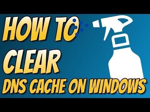 How To Flush Windows 10 DNS Tutorial | CLEAR DNS CACHE ON WINDOWS 10