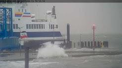 Sturmflut Wyk auf Föhr vom 13.9.2017