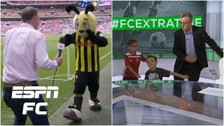 Craig Burley dances with Watford mascot & Steve Nicol dances with Dan Thomas' kids | Extra Time