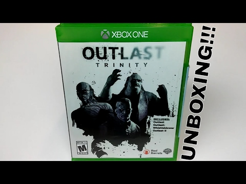 OUTLAST 2 TRINITY - UNBOXING (XBOX ONE)
