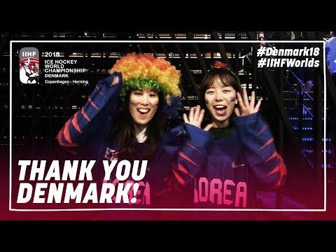 Thank you Denmark!| #IIHFWorlds 2018