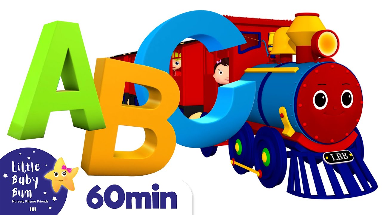 ABC Train +More Nursery Rhymes and Kids Songs | Little Baby Bum