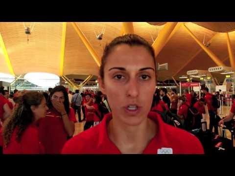 #TEAMESP - ALBA TORRENS - TRIBUNA OLÍMPICA