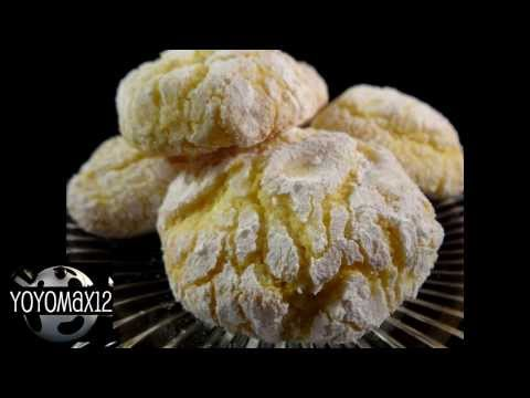 Recipes using cake mixes #25: Lemon Crinkle Cookies