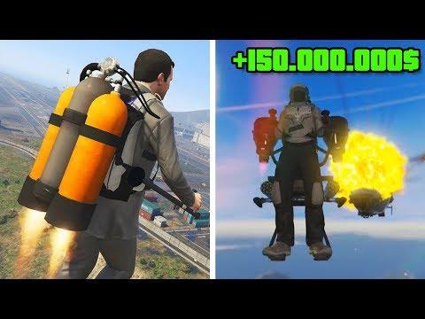 WIR KAUFEN das JETPACK in GTA ONLINE !!! 150.000.000$ AUSGEBEN !
