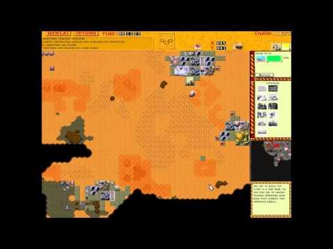 Dune 2 The Golden Path 2v2 Harkonnen vs Atreides Death Hand Missiles