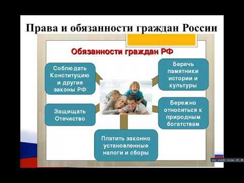 5 класс Я гражданин России