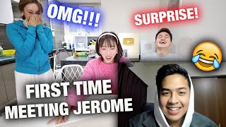 PRANKING JINI WITH HER FAVORITE INDONESIAN YOUTUBE CRUSH | JINI FINALLY MEETS JEROME