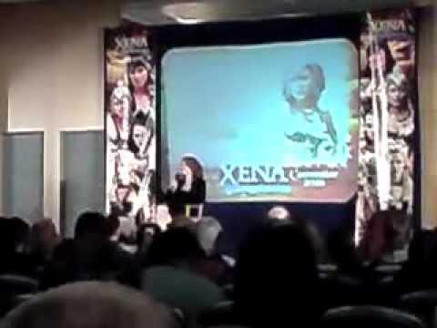 Paris Jefferson  Xena Convention 2008  London, UK